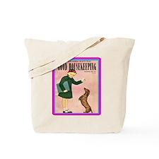 """""""1950 Good Housekeeping"""" Tote Bag"""