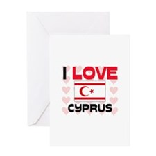 I Love Cyprus Greeting Card