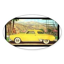 """1950 Starlight Coupe "" Oval Decal"