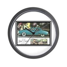 """1950 Studebaker Land Cruiser Ad"" Wall Clock"