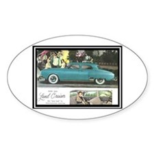 """1950 Studebaker Land Cruiser Ad"" Decal"