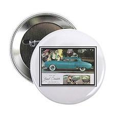 """1950 Studebaker Land Cruiser Ad"" 2.25"" Button"