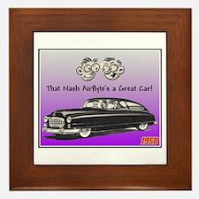 """""""1950 Nash Ad"""" Framed Tile"""