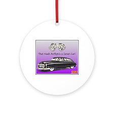 """""""1950 Nash Ad"""" Ornament (Round)"""