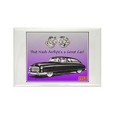 """1950 Nash Ad"" Rectangle Magnet"