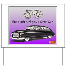 """1950 Nash Ad"" Yard Sign"