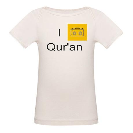 I Listen to Quran Organic Baby T-Shirt