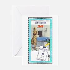 """Tareyton Cigarettes"" Greeting Card"