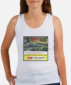 """1949 New England States Ad"" Women's Tank Top"