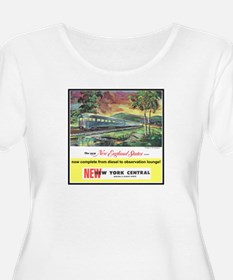 """1949 New England States Ad"" T-Shirt"