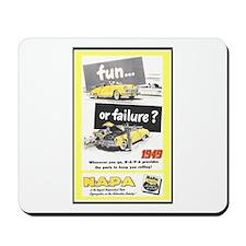 """""""1949 NAPA Ad"""" Mousepad"""