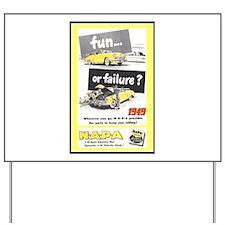 """""""1949 NAPA Ad"""" Yard Sign"""