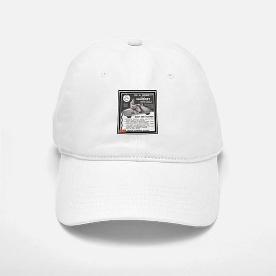 """Salsbury Scooter Ad"" Baseball Baseball Cap"