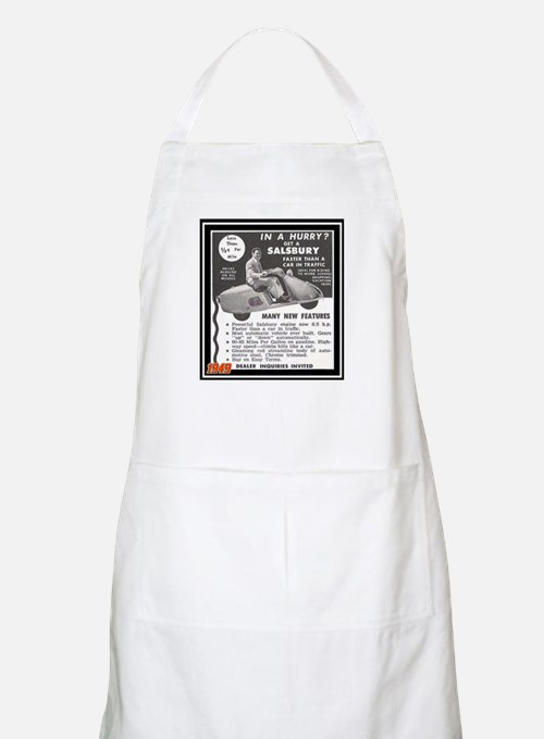 """Salsbury Scooter Ad"" BBQ Apron"