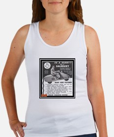 """Salsbury Scooter Ad"" Women's Tank Top"