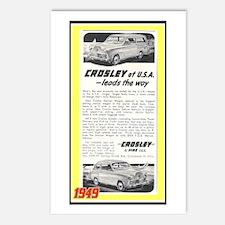 """1948 Crosley Ad"" Postcards (Package of 8)"