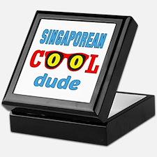 Solomon Islander Cool Dude Keepsake Box