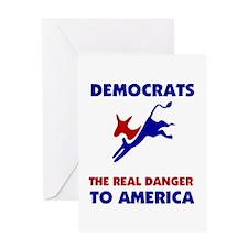 IMPEACH DEMOCRATS Greeting Card