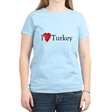 I Love Turkey T-Shirt