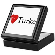 I Love Turkey Keepsake Box