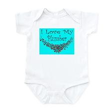 I Love My Plumber Infant Creeper