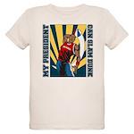 Barack Obama Slam Dunk Organic Kids T-Shirt