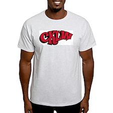 CKLW Detroit 1970s -  Ash Grey T-Shirt