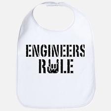 Engineers Rule Bib