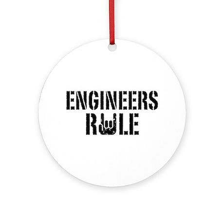 Engineers Rule Ornament (Round)