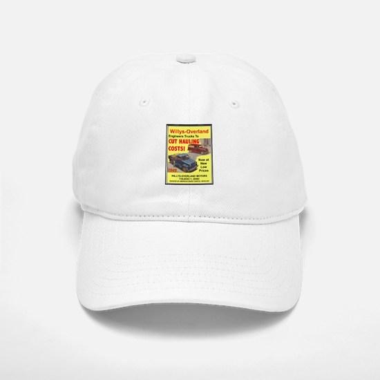 """1949 Willys Ad"" Baseball Baseball Cap"