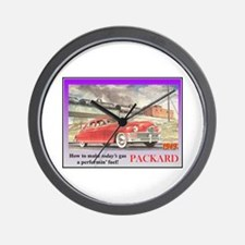 """1949 Packard Ad"" Wall Clock"