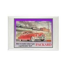 """""""1949 Packard Ad"""" Rectangle Magnet"""