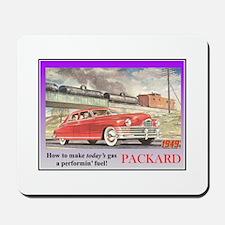 """1949 Packard Ad"" Mousepad"