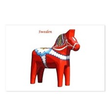 Dala Horse Postcards (Package of 8)