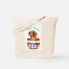 Easter Dachshund Tote Bag