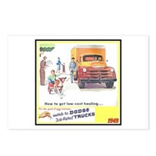 """1949 Dodge Trucks"" Postcards (Package of 8)"