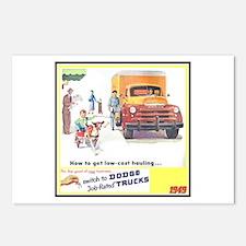 """1949 Dodge Trucks"" Postcards (Package of 8)"
