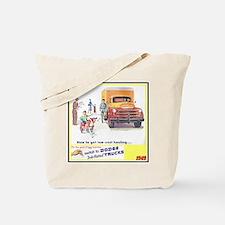 """1949 Dodge Trucks"" Tote Bag"