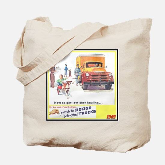 """1949 Dodge Trucks"" Tote Bag"