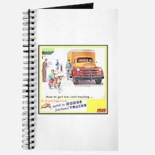"""1949 Dodge Trucks"" Journal"