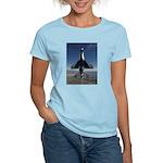 Thunderbird Vertical Women's Pink T-Shirt