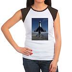 Thunderbird Vertical Women's Cap Sleeve T-Shirt