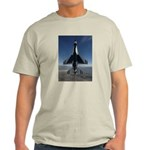 Thunderbird Vertical Ash Grey T-Shirt