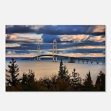 Mackinac Bridge #1060 Postcards (Package of 8)