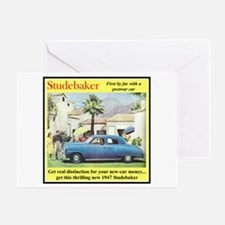 """1947 Studebaker Ad"" Greeting Card"