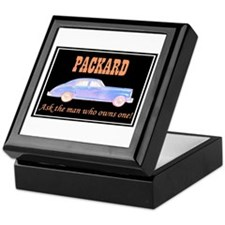 """Packard Slogan"" Keepsake Box"