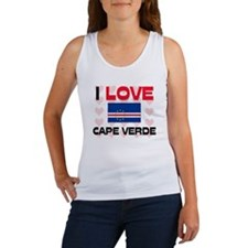 I Love Cape Verde Women's Tank Top