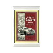 """1947 DeSoto Ad"" Rectangle Magnet"