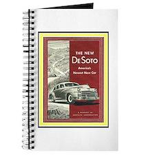 """""""1947 DeSoto Ad"""" Journal"""