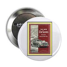 """""""1947 DeSoto Ad"""" 2.25"""" Button"""